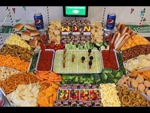 How To Make A Snack Stadium! Cheap And Easy!