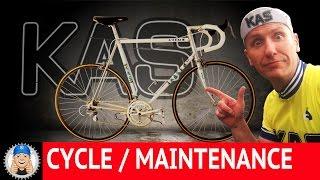 Vintage Road Bike Restoration Vitus 979 Sean Kelly Special