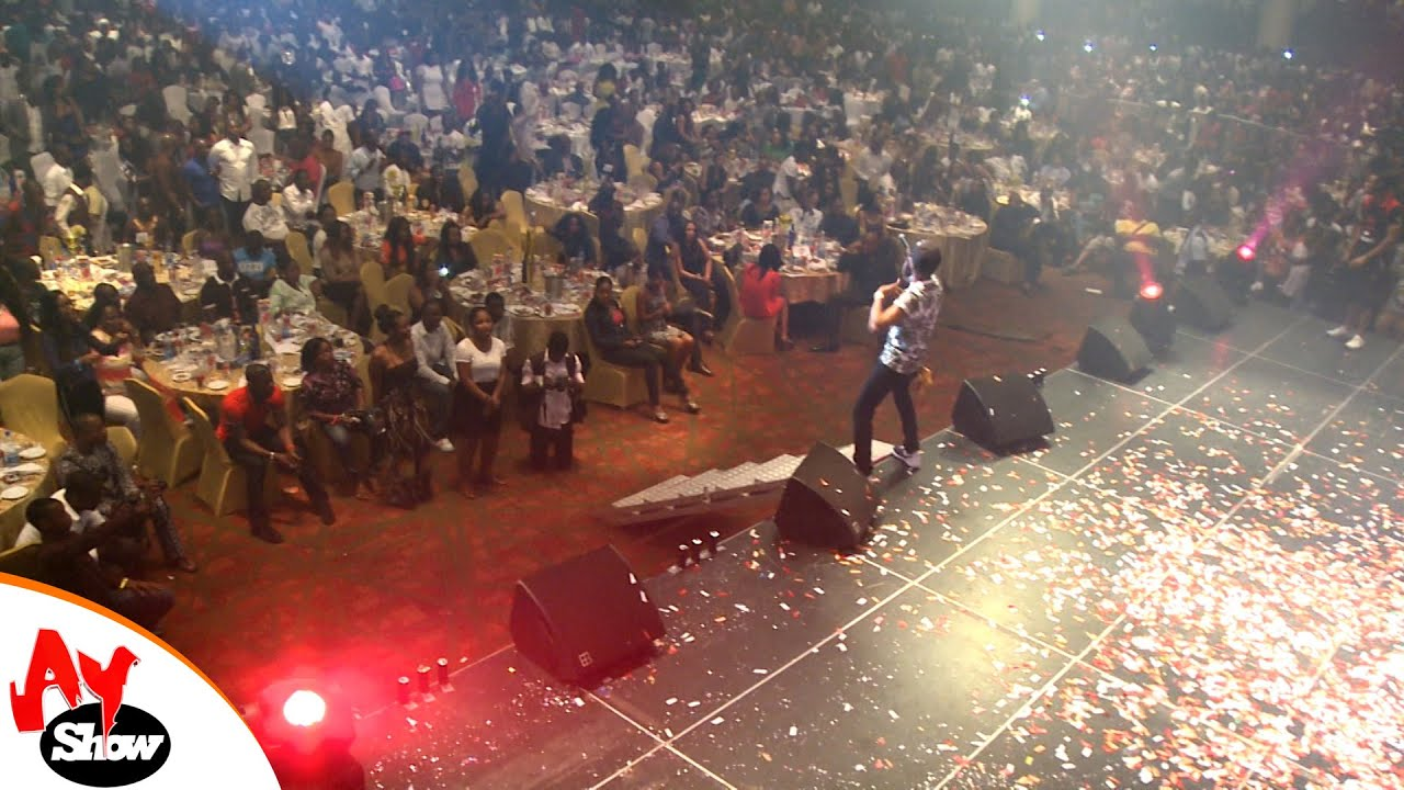 Download AY LIVE: See what Wizkid's did in a show