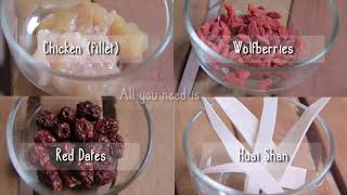 Tupperware Thermal Flask Recipe   Healthy Ginseng Chicken Soup
