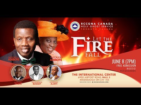 RCCG CANADA HOLY GHOST SERVICE 2018