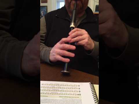 """""""Deck the Halls"""" from the National Piping Centre Tutor Book-Bagpipe Tune Tutorial"""