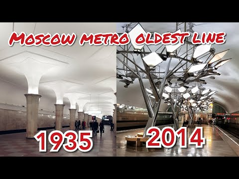 BEAUTIFUL MOSCOW METRO PART 2 || КРАСНАЯ ВЕТКА ВСЕ СТАНЦИИ || Indian in Russia
