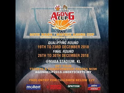 60th MABA/Matrix Agong Cup GAME1 1620PM SPEED HUNTERS VS KNIGHT FURY