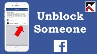 How To Unblock Someone Facebook App
