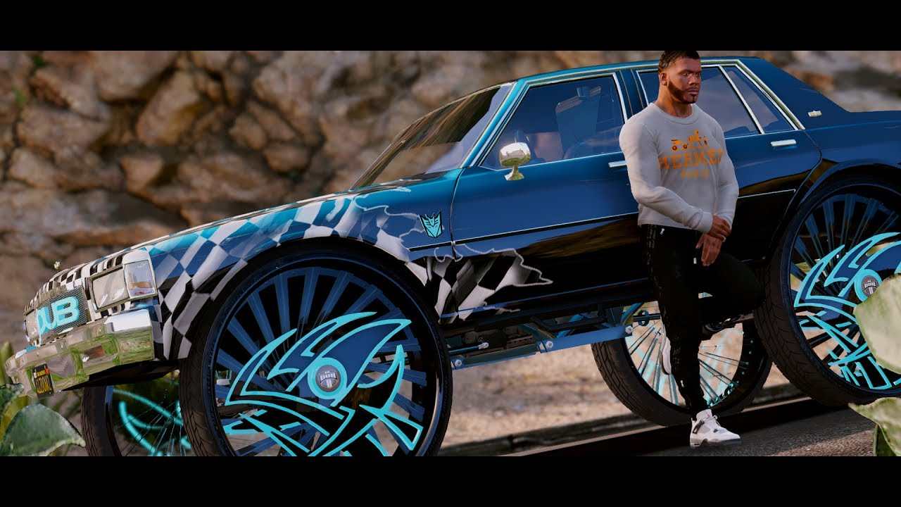 Gta 5 Donk Big Rim Challenge Chevrolet Caprice Box