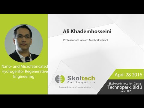 Nano- and Microfabricated Hydrogels for Regenerative Engineering, Prof Khademhosseini