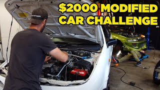 $2000 Modified Car Challenge - FIXING THE NUGGETS