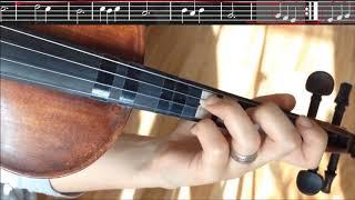 Samanyolu Keman ile Nasıl Çalınır? - Müzikte Dolap Nedir?  Violin Cover (Öğretici Notalı Video)