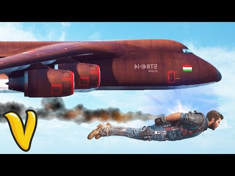 JUST CAUSE 3 WINGSUIT VS PLANE!! :: Just Cause 3 Multiplayer Fails Compilation!