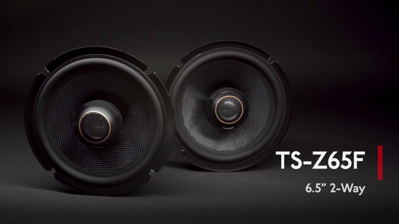 Best 6.5 Speakers 2020 Pioneer TS Z65F   Z Series 6.5 Inc Component Speaker Overview