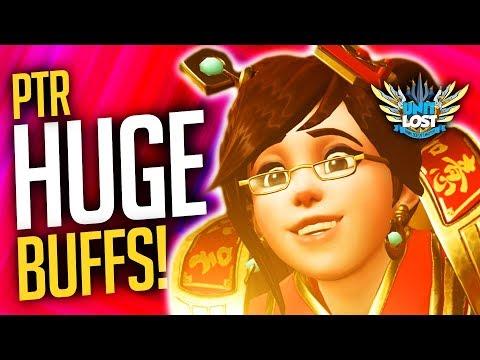 Overwatch - HUGE PTR Hero Changes - Sombra, Mei and Doomfist BUFFS!