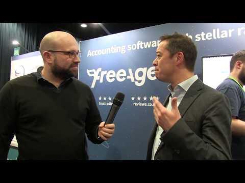 Accountex North 2018: Tom Herbert interviews Ed Molyneux from FreeAgent