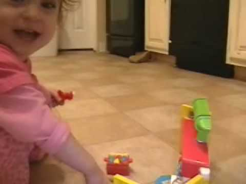 20 Month Old Talking Pretend Playing