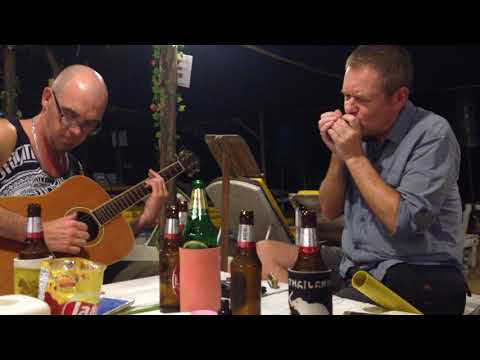 Garry and Ben The Thrill is Gone - 3rd position on harmonica