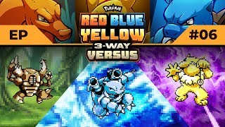 STALLFEST!! | Pokemon Red / Blue / Yellow #3WayVersus EP06