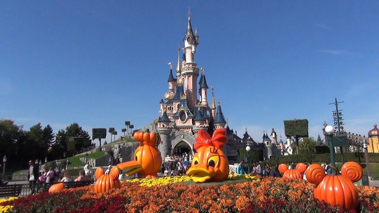 Fall Disney Wallpaper Disneyland Paris Halloween Decorations Main Street