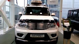 УАЗ Патриот PATRIOT 2018 модельный год в обвесе
