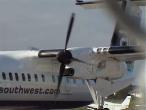 Dash 8 Startup On Stand 1A