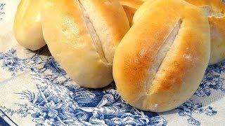 Milchbrötchen aus Dinkelmehl selber backen / Rezept Video