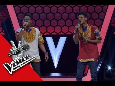 Duo Elie et Hermann ' Baba ' Sonnie Badu Audition à l'aveugle The Voice Afrique francophone 2017