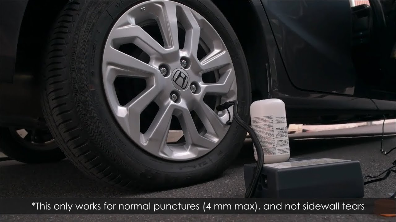 QUICK LOOK: Honda Jazz Hybrid Tyre Repair Kit In Malaysia