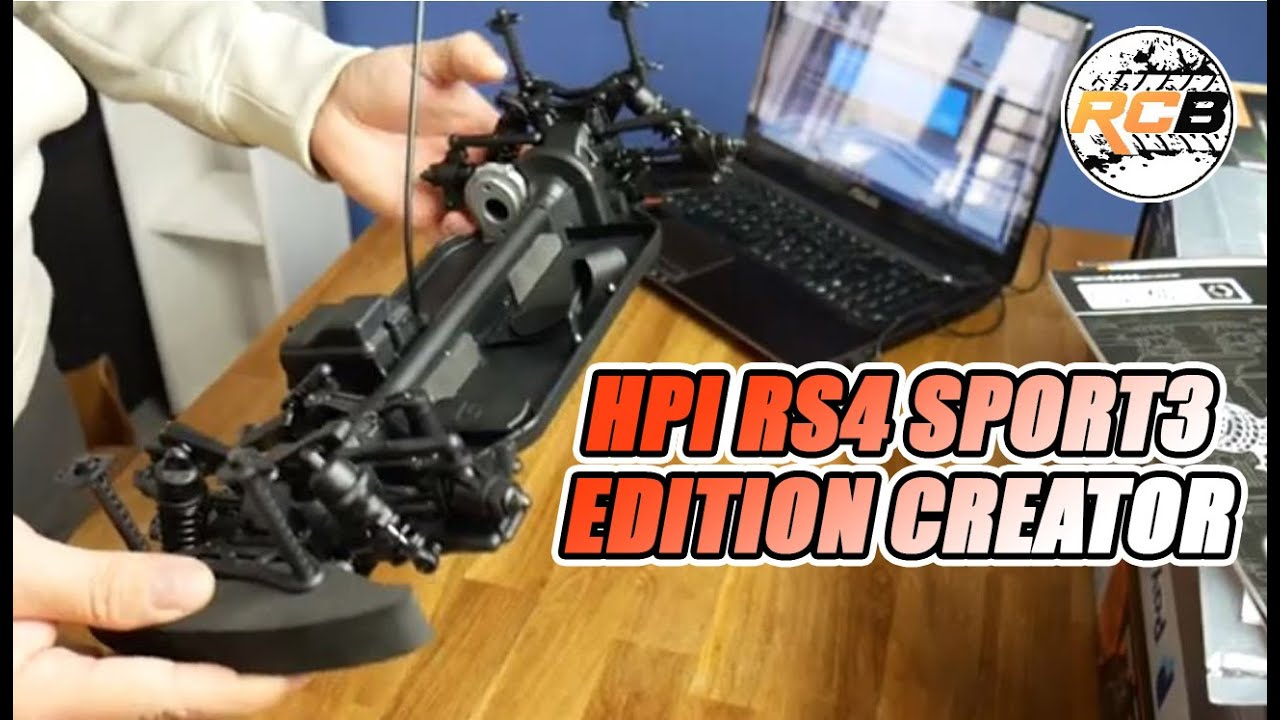 Unboxing HPI RS4 Sport 3 edition creator