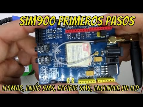 📶 SIM900, Llamar Enviar Y Recibir Sms Encender Un Led (Primera Parte?)