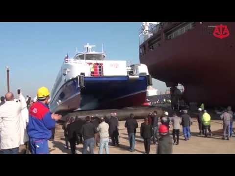 Carbon Catamaran Passenger Ferry Production Documentary (ENG)
