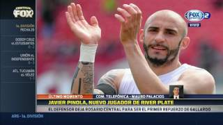 Javier Pinola será jugador de River