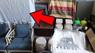 Jackpot Hiding Under Bed Sheets Abandoned Storage Units
