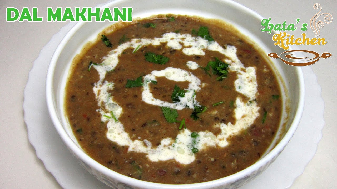 Dal makhani recipe punjabi indian vegetarian recipe video in dal makhani recipe punjabi indian vegetarian recipe video in hindi latas kitchen youtube forumfinder Image collections