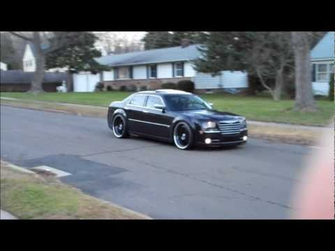 Chrysler 300c 24s Black On Black Youtube