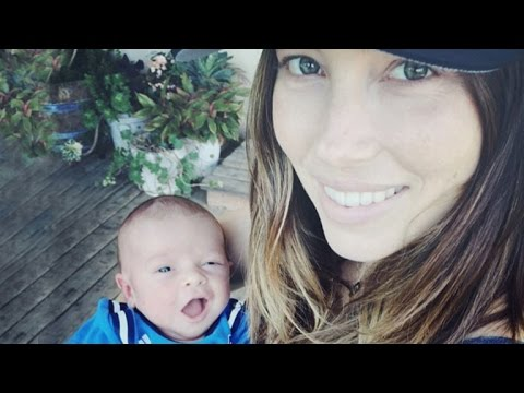 Jessica Biel Says Baby Silas is Just Like Justin Timberlake: 'He's a Ham'!