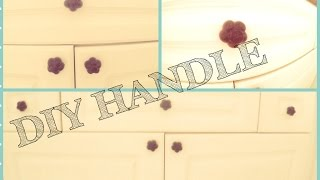 Diy How To Make A Plastic Custom Knob, Handle, Pull For A Dresser