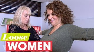 Loose Women Find Out Their Sizes