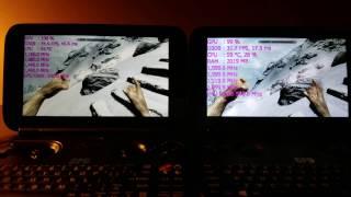 GPD Win - 8700 VS 8750 Skyrim FIGHT