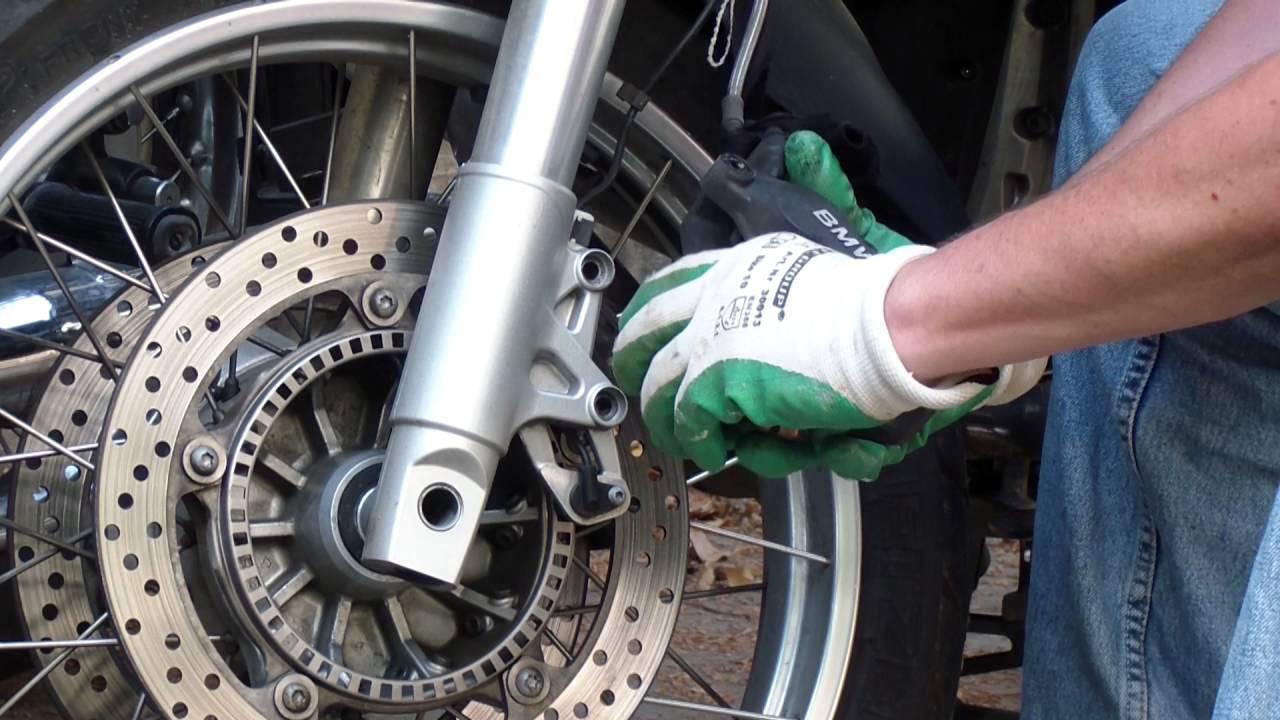 Bmw R1200gs Front Brake Pads Youtube Wheel Bikes 2