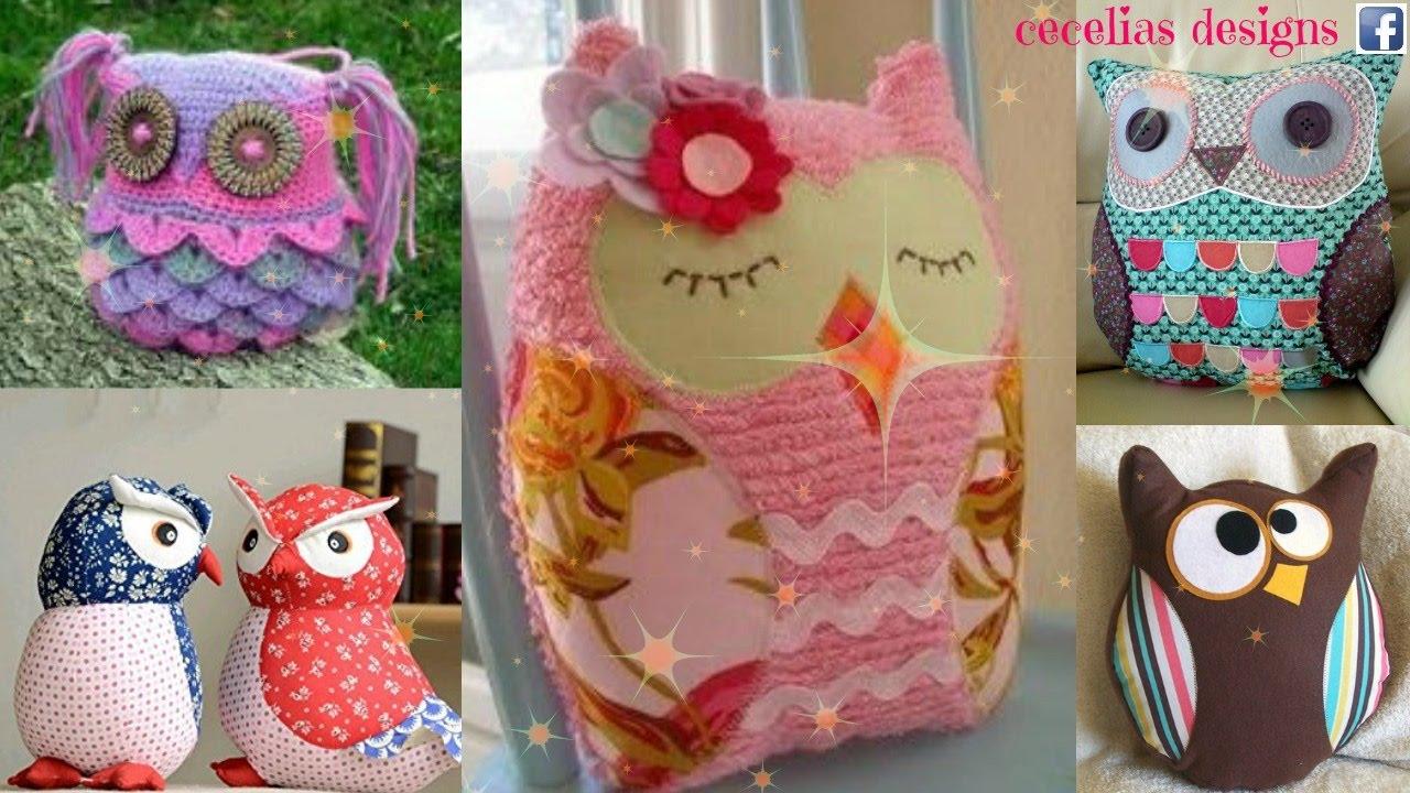 Owl - Doorstop, Stuffed Toy - Crochet Pattern | 720x1280