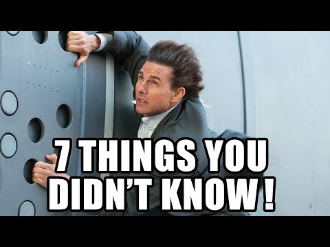 7 Things You Didn't Know About Mission Impossible 5 Rogue Nation