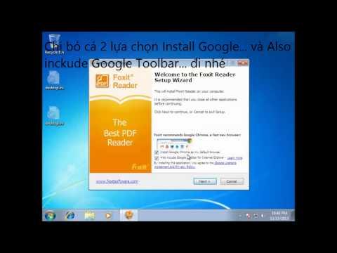 Hướng dẫn cài phần mềm đọc là in ra file PDF Foxit Reader