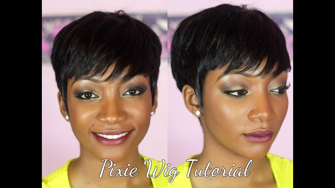 Diy How To Make A Pixie Wig Youtube