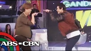 Enrique Gil Dances to