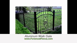 Different Types Of Fencing Options Offered By Foremost Fence
