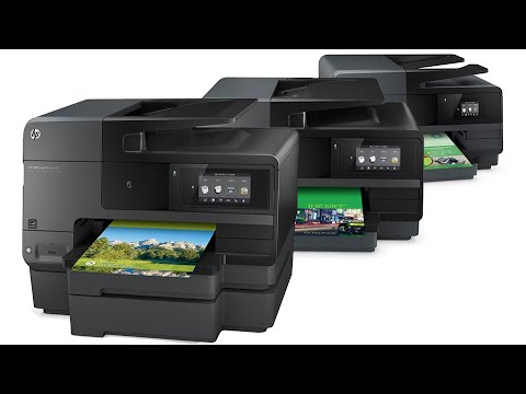 HP Officejet Pro 8620- How to Clean Printhead