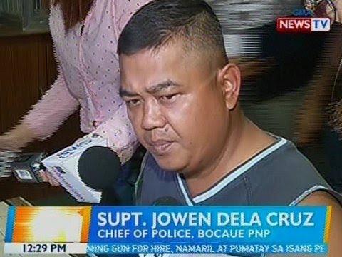 BT: Chief of police ng Bocaue, arestado dahil sa umano'y extortion