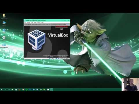 How to install virtualbox on Windows 10 and install ArchLabs