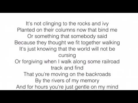 Gentle On My Mind - The Band Perry