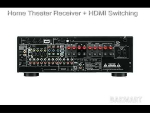 Denon AVR-1709 Home theater receiver + HDMI switching - AVR1709