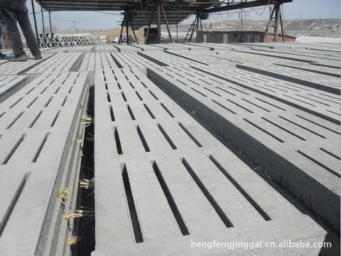 Concrete Slats For Pig Youtube